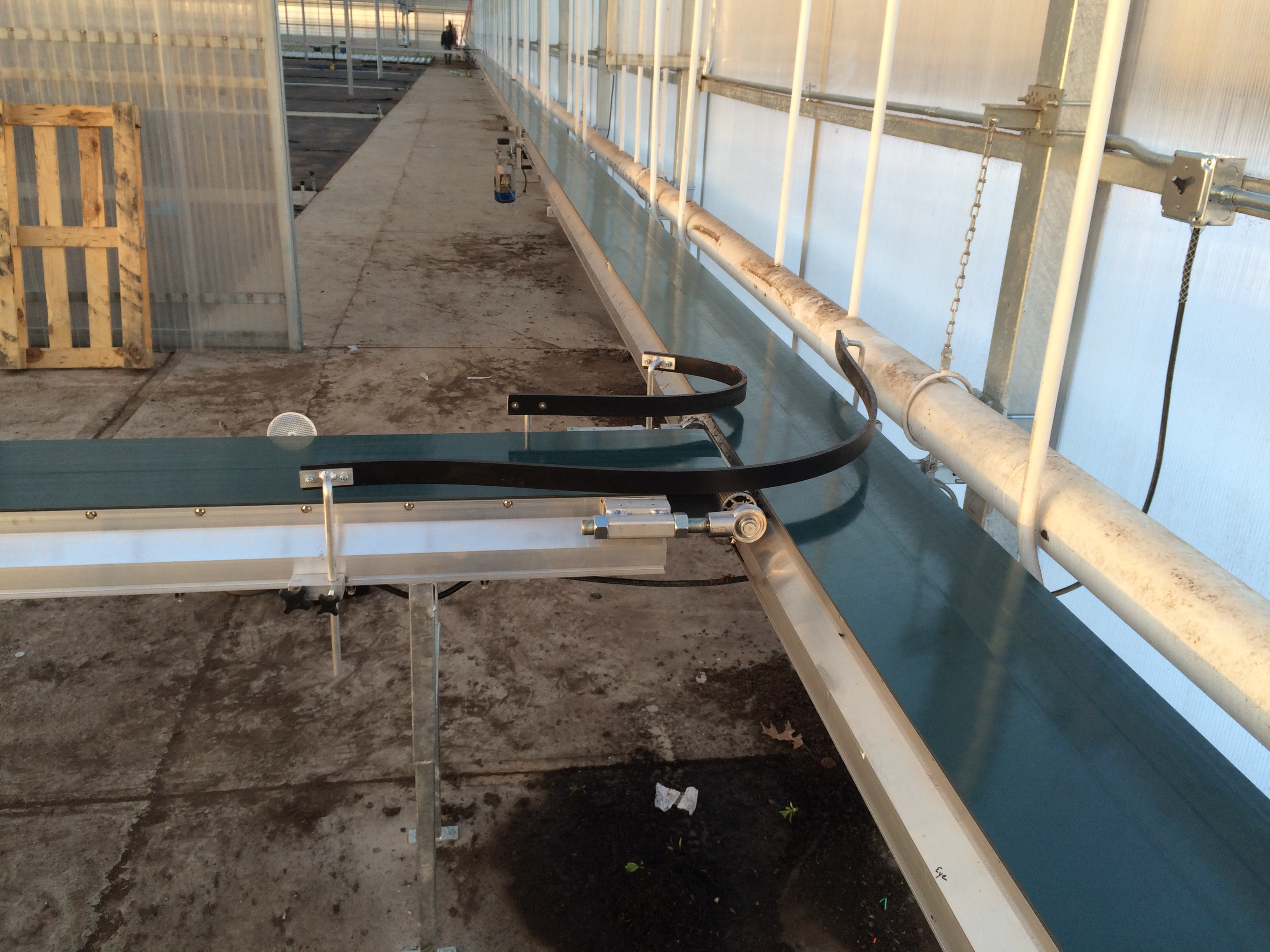 Conveyor Systems to Expand Greenhouse Growers Crops
